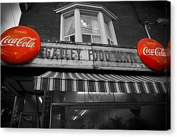 Drink Coca Cola Canvas Print by Kamil Swiatek