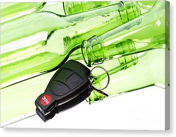 Drunk Driving Canvas Print by Blink Images