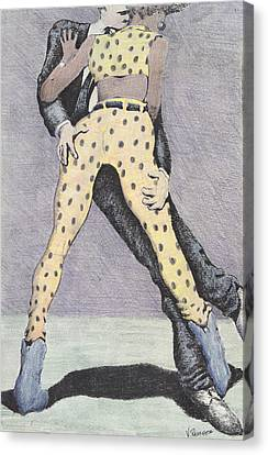Drunksuits Canvas Print by Vincent Randlett III