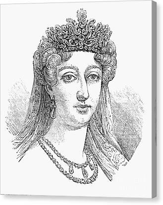 Duchess Of AngoulÊme Canvas Print by Granger