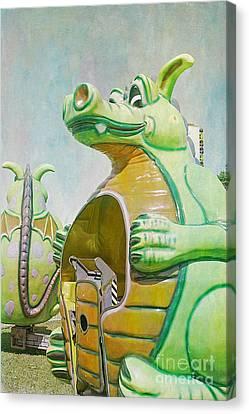 Duffy The Dragon Canvas Print by Cindi Ressler