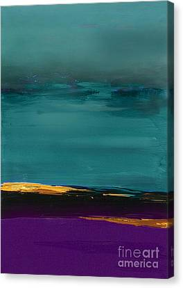 Dunes - Abstract Landscape Canvas Print by VIAINA Visual Artist
