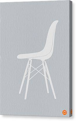 Eames Fiberglass Chair Canvas Print by Naxart Studio