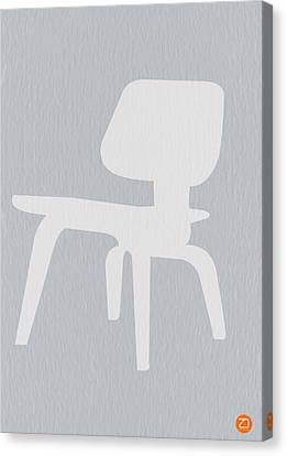 Eames Plywood Chair Canvas Print by Naxart Studio