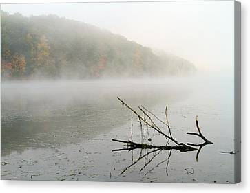 Early Autumn Morn Canvas Print by Karol Livote