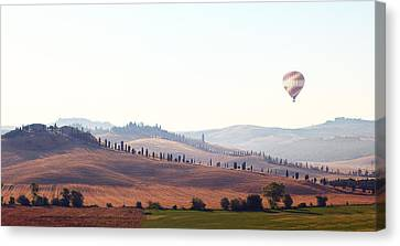 Early Morning In Tuscany Canvas Print by Lena Khachina