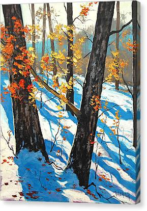 Early Winter Canvas Print by Graham Gercken