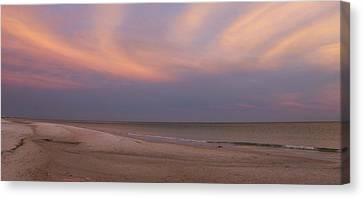 East - After The Sunset Canvas Print by Sandy Keeton