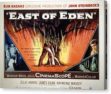 East Of Eden, James Dean, Lois Smith Canvas Print by Everett