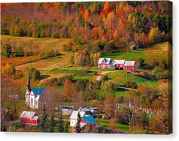 East Orange Village Canvas Print by Andy Richards