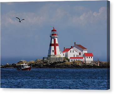 East Quoddy Head Lighthouse Canvas Print by Lori Deiter