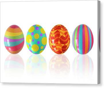 Easter Eggs Canvas Print by Carlos Caetano