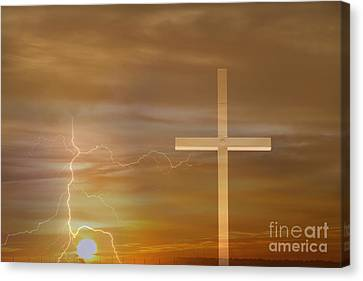 Easter Sunrise Canvas Print by James BO  Insogna
