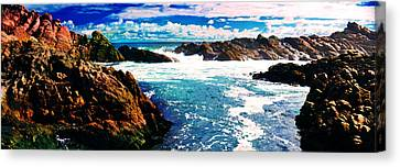 Ebbing Tide Canvas Print by Phill Petrovic