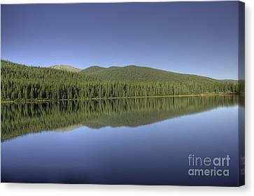 Echo Lake Canvas Print by David Bearden