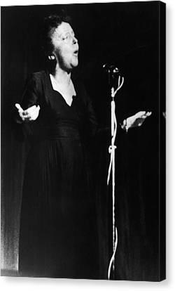Edith Piaf 1915-1962 Canvas Print by Granger