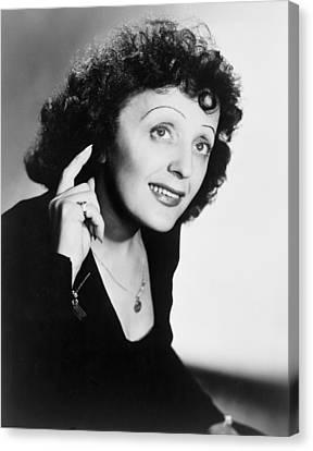 Edith Piaf 1915-1963, French Ballad Canvas Print by Everett