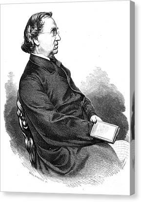 Eduard Moerike (1804-1875) Canvas Print by Granger