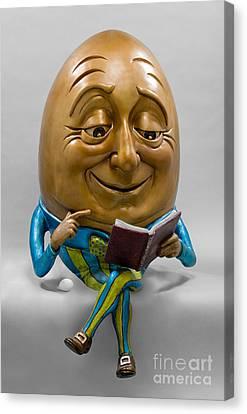 Egghead Canvas Print by Kimber Fiebiger