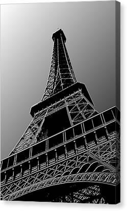 Eiffel Canvas Print by Heather Applegate