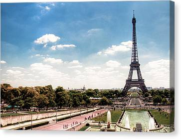 Eiffel Tower Canvas Print by Photo by Stuart Gleave