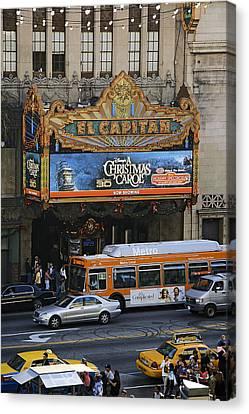 El Capitan Canvas Print by Viktor Savchenko