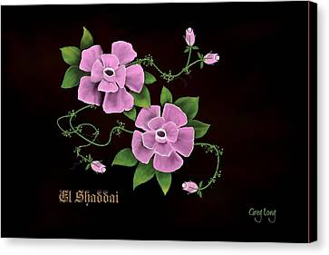 El Shaddai         The Almighty Canvas Print by Greg Long