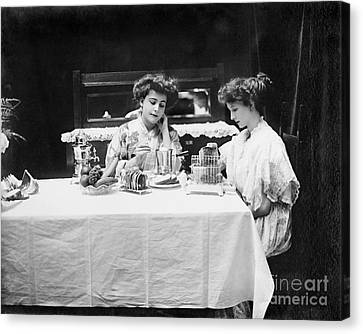 Electric Cookware, 1908 Canvas Print by Granger