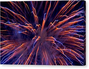 Electric Canvas Print by Paul Mangold