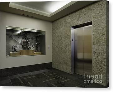Elevator Canvas Print by Robert Pisano