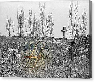Elijahs Chair Canvas Print by Joe Jake Pratt