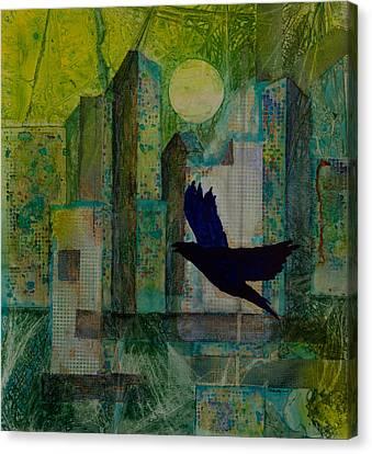 Emerald City Canvas Print by David Raderstorf