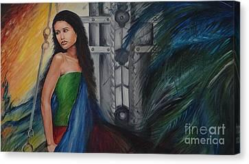 Emotions Canvas Print by Tanuja Chopra