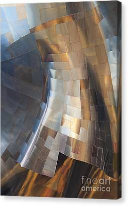 Emp Abstract Canvas Print by Chris Dutton