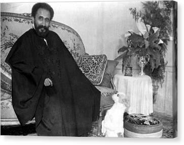 Emperor Haile Selassie, Circa 1930-1935 Canvas Print by Everett
