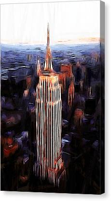 Empire State Building Canvas Print by Steve K