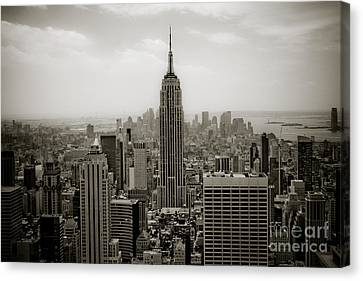 Empire State Canvas Print by Ken Marsh