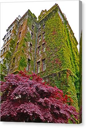 Empress Hotel - Victoria Canada - 02  Canvas Print by Gregory Dyer