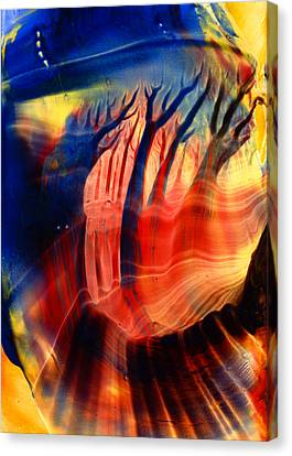 Encaustic 467 Canvas Print by Hakon Soreide
