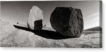 Enchanted Rock Canvas Print by David  Rusch