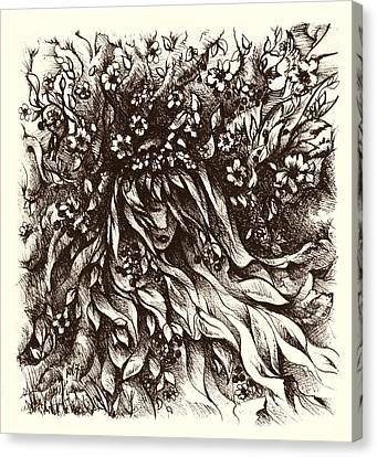 Enchantment Canvas Print by Rachel Christine Nowicki