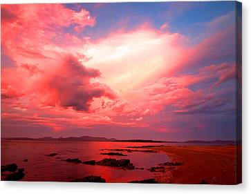 End Of The Day Canvas Print by Paul Svensen