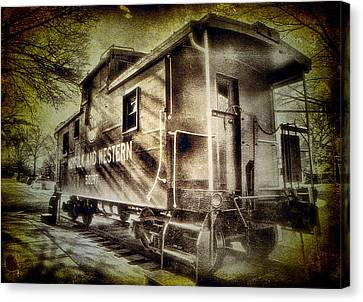 End Of The Line II Canvas Print by Steven Ainsworth
