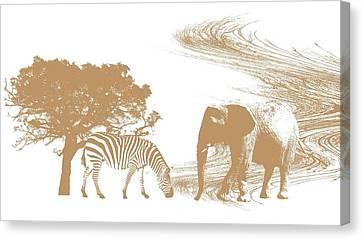 Endangered Canvas Print by Sharon Lisa Clarke