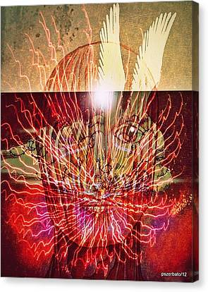 Endogenous Factors Are Bursting Of Great Lessons Canvas Print by Paulo Zerbato