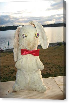 Energizer Bunny No More Canvas Print by Kym Backland