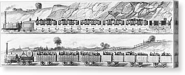 England: Railroad Travel Canvas Print by Granger