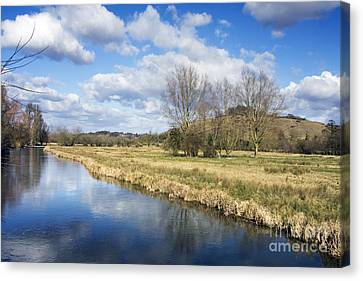 English Countryside Canvas Print by Jane Rix