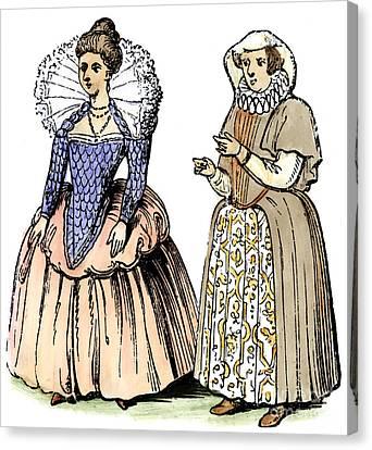 English Women Canvas Print by Granger