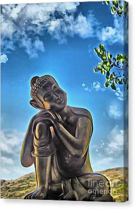 Enlightenment 1 Canvas Print by Cheryl Young